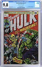 S588 HUNT FOR WOLVERINE #1 Marvel CGC 9.8 NM/MT 2018 HULK #181 SHATTERED Variant