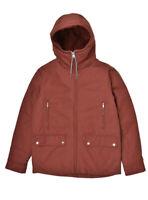 Elvine Mens Modern Comfortable Jacket Slim Red Size L