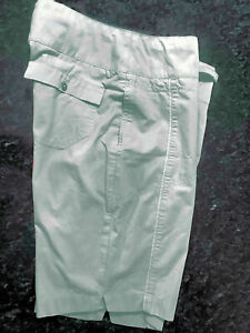 Nike Golf Flat Front Below The Waist Bermuda Shorts 11-in Taupe Women's Small