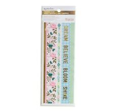 NEW Recollections  Creative Year Planner - Honeydew Washi Tape Stickers