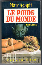 ANGOISSE n°189 # MARC AGAPIT # LE POIDS DU MONDE # EO 1970 fleuve noir