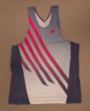 RARE Vintage 90s Nike Air Agassi tank top shirt tennis Size L Large Purple