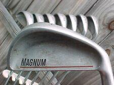 Ben Hogan Magnum Oversize Steel Cavity Golf Clubs Irons Set w Apex # 4 3 thru PW