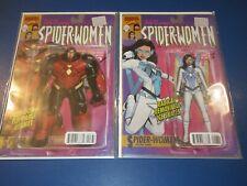 Silk #7,8 Spider-Women Variants lot of 2 NM-/NM Beauties JP