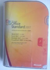 Microsoft Office 2007 Standard Japanese Retail Box Full