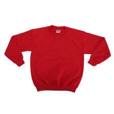 Magliette e maglie rossi a manica lunga in misto cotone per bambine dai 2 ai 16 anni