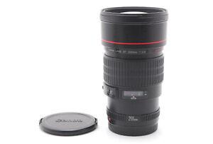 【MINT+++】Canon EF 200mm f/2.8 L USM Telephoto AF Camera Lens From JAPAN
