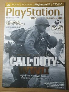PlayStation Official Magazine November 2017 #141 Subscriber (373) Call of Duty