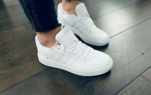 Adidas Hoops 2.0 trainers white new collection