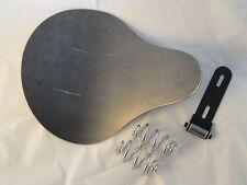 Custom seat pan w/ seat hinge, Springs for chopper bobber WCC Harley AF2D 0916