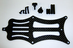 XTREME RACING TEAM LOSI 22 CARBON FIBER BATTERY STRAP XTR10872 1/10 22t 22SCT