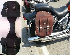 BORSE BISACCE PELLE LATERALI SUZUKI INTRUDER VOLUSIA  500 800 VS VZ 1500 LC VC