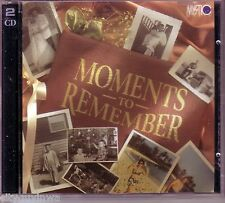 Mystic Music Presents MOMENTS TO REMEMBER Various 1992 As Seen on TV Oop 2CD 50s