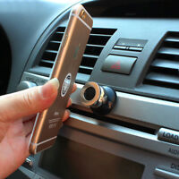 Black Car 360° Magnetic Cell Mobile Phone Car Dash Holder Magic Stand Mount 1Pc