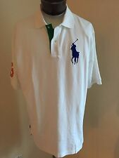 NWT Men's Big & Tall Polo Ralph Lauren SS Classic Polo Shirt White 4X Big