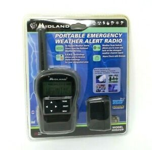 MIDLAND HH54VP Portable Emergency Handheld Weather Alert Radio Brand New Sealed