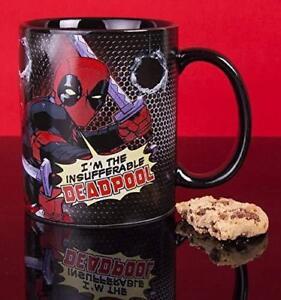 Marvel Deadpool Classic Comic Coffee Tea Mug * NEW - FAST UK DISPATCH *