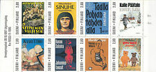 FINLAND BOOKLET :1997 Centenary of Finnish Writers complete SG SB57 MNH