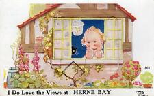 Herne Bay Mabel Lucie Attwell Novelty Pull Out 1860 pc used Ref A33