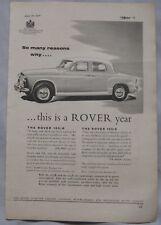 1957 Rover Original advert No.2