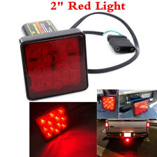 "1Pcs 12 LED Car Truck Trailer Hitch Tail Light Brake Lamp Fit 2"" Size Receiver"