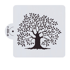 Bakell Stencil - 6x6 Tree of life Print - Decorating and Crafting Stencils