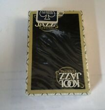 Sealed Deck of KOOL Jazz Festival Playing Cards
