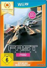 Nintendo Wii u juego Select Rápido Racing Neo WiiU eShop Selects