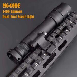 M640DF Dual Fuel LED Scout Light 1400 Lumens Offset side Mount Hunting Lighting