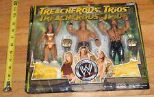 2006 WWF WWE Jakks Melina John Morrison Joey Mercury Trios Wrestling Figures MIP