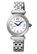Seiko srz403p1 Damas Acero Reloj Wr50, 2 Años Garantía RRP £ 189.00