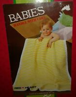 Knit & Crochet Babies Handle with Care Digest Coats & Clarks Inc. Book No. 299
