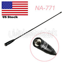 144/430Mhz NA-771 Antenna SMA-Female 50 OHm 2.15dB For Nagoya Kenwood Baofeng US