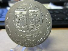 1947 Metropolitana Compiania Mexicana De Seguros Award Medal Silver 8 Reales