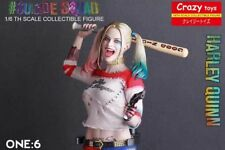 NEW SEXY 1:6 CRAZY TOYS DC SUICIDE SQUAD HARLEY QUINN COLLECTIBLE ACTION FIGURES