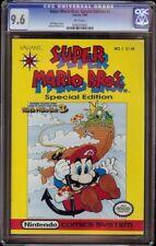 Super Mario Bros Special Edition # 1 CGC 9.6 White (Valiant, 1990)