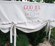 Raff Gardine JUL Rollo 120x100 Sand Rot Lillabelle Vintage Shabby Chic curtain