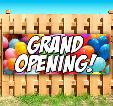 Grand Opening Advertising Vinyl Banner Sign Large Sizes Business Signs Usa
