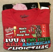 CHRISTMAS STORY 2 Pc Sleep Set- Mens Size L - NEW $56