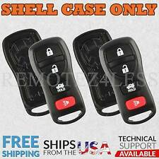 2 For 2002-2006 Nissan Altima 4b Remote Shell Case Car Key Fob Cover