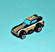 "MICRO MACHINES - PLYMOUTH ARROW FUNNY CAR black/white ""NGK""  - Galoob car"
