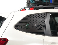 Subaru Forester USA Flag Decals Fits 2009-2013 Side Windows 2.5x Turbo QB6