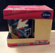 WALT Disney Mickey Mouse Clubhouse Childs Tazza Boxed-Scatola ha Shelf Wear