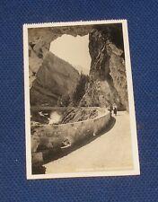 Switzerland - Kandersteg - Nene Gasterntalstrasse - Old Postcard