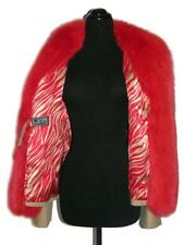 GIANNI VERSACE Couture Traje Chaqueta Jacket/Skirt Suit with Red Fox Fur
