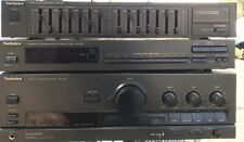 Technics St-K50 Am/Fm Stereo Tuner / Su-G70 Stereo Amplifier /Equalizer Sh-8017