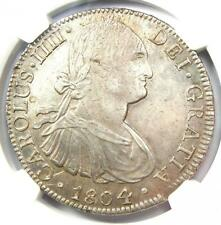 1804-MO TH Mexico Charles IV 8 Reales Coin (8R) - Certified NGC AU Details