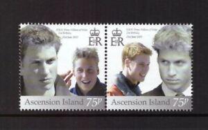 Ascension Island 2003 Prince William  set mint MNH stamps