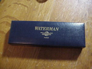 WATERMAN'S IDEAL Made in France BALLPOINT PEN in Original Box