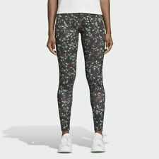 NWT ADIDAS JARDIM MULTICOLOR FLORAL POLYESTER LEGGINGS RARE SOLD OUT